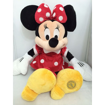 Minnie Vermelha 47cm - Turma Do Mickey Disney Store