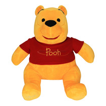 Boneco Urso De Pelúcia Disney O Ursinho Pooh - Original
