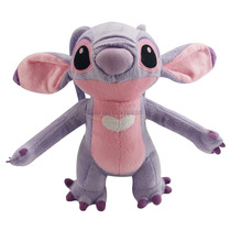 Boneco Pelúcia Disney Stitch Ou Angel - Original