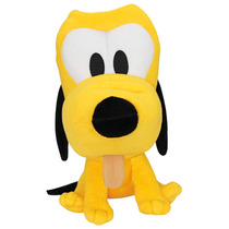 Pelucia Pluto Big Head Caozinho Do Mickey Disney Long Jump