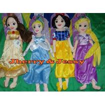 4 Princesas Boneca Plush 50 Cm Disney Store