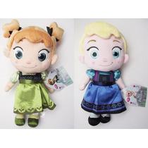 Pronta Entrega Pelucia Baby Frozen Individual 30cm Anna Elsa
