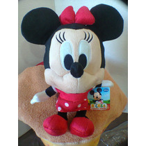 Minnie Vermelha- 30 Cm - Original Disney Long Jump +brinde