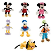 Mickey, Minnie, Pateta, Donald, Margarida Ou Pluto 23 Cm