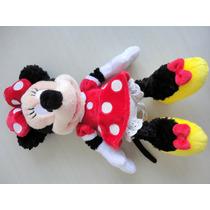 Boneca Minnie Disneyland Theme Parks 29 Cm De Altura ! !