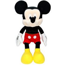 Boneco De Pelúcia Disney Mickey Mouse Grande Original