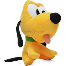 Pelúcia Disney Baby Pluto Big Head Turma Do Mickey Original