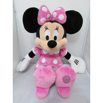 Minnie Rosa 35cm Turma Do Mickey Disney Store Original