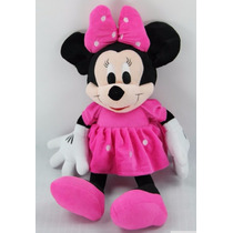Boneca Pelucia Minnie 50cm Disney Original Minie Mickey
