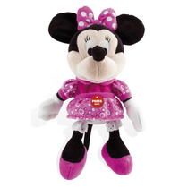 Pelúcia Happy Sounds Minnie 35cm Disney Original Multikids