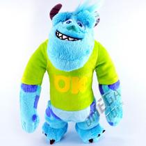 Pelúcia Sulley Com Camiseta Universidade Monstros Disney