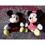 Mickey E Minnie - Importados Disney - Boneco Pelucia