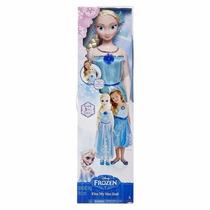 Boneca Elsa Frozen Meu Tamanho 96,5cm Pronta Entrega Sp