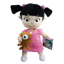Boneca De Pelúcia Boo C/ Ursinho Monstros Sa Original Disney