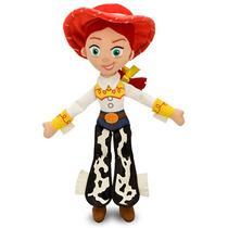 Boneca Pelucia Vaqueira Jessie Toy Story Disney 43 Cm Grande