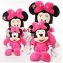 Minnie Rosa De Pelucia Da Disney Importada