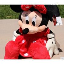 Boneco Minnie Disney Original Tamanho Grande 50cm No Brasil
