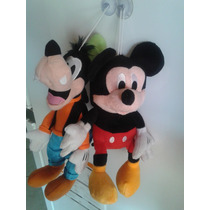 Kit Pelúcia Pateta E Mickey Da Turma Do Mickey