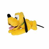 Boneco De Pelúcia Pluto Deitado 40 Cm - Long Jump