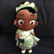Boneca Pelúcia Tiana Princesa E O Sapo Baby Original