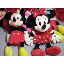Casal Mickey E Minnie Vermelha
