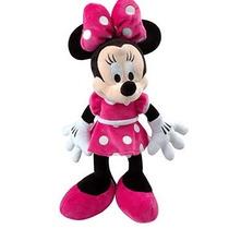 Boneco Pelúcia Da Minnie Com Música