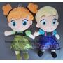 Kit 2 Pelúcias Frozen Ana E Elsa Baby - Já No Brasil