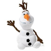 Pelucia Musical Disney Frozen Boneco Olaf Antialergico