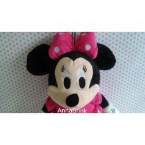 Boneca De Pelúcia Minnie Rosa 50 Cm
