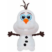 Boneco De Pelúcia Olaf Frozen Disney Antialérgico Big Head