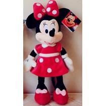 Boneco Pelucia Minnie Mouse Grande Disney 55cm Antialergico