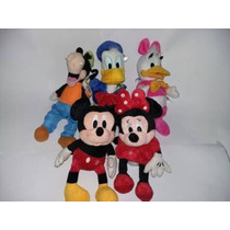 Kit Disney Donald Pateta Margarida Minie Mikey 5 Peças
