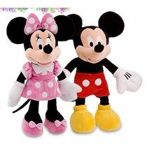Mickey + Minnie Mouse Pelucia 48 Cm (original)
