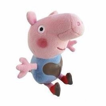Peppa Pig Pelúcia George Lama 20cms Ty!