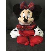Boneco De Pelúcia Da Minnie Disney -original 42 Cm Importada