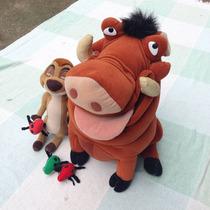Pelúcias Timão E Pumba Disney Originais. Grandes!