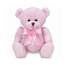Ursinho Pelucia Batutinha Rosa Buba Toys
