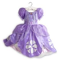 Fantasia Princesinha Sofia Luxo 3 A 4 Anos *original Disney