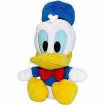 Boneco De Pelúcia Pato Donald Bean Bag Big Head Disney