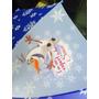 Frozen Olaf. Guarda Chuva Olaf Azul