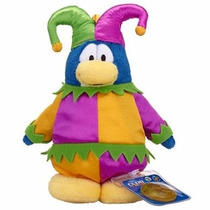 Club Penguin - Pelúcia Bobo Da Corte Com Moeda. Novo!