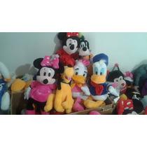 Pelúcias Disney Mickey, Minnie,pateta,donald E Margarida