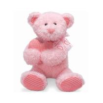 Peluciaursinho Abraço No Coração Rosa Buba Toys
