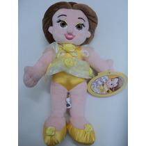 Pelúcia Princesa Baby Belle (bela) Disney Park Exclusive