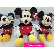 Kit Mickey 1 Mickey De 40 Centímetros E Mais 2 De 30 Ctm