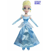 Boneca Cinderela De 50cm Original Princesas Disney Long Jump