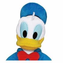 Pato Donald Pelúcia 30cm Disney Original Long Jump + Brinde