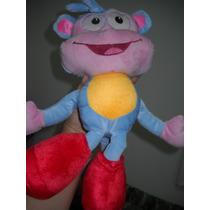 Macaco Bota ( Dora ) Pelúcia 47cm Um Show Natal É Aqui!!!