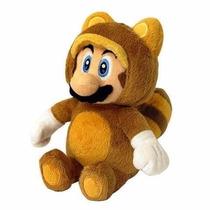 Pelúcia Super Mario Tanooki Voador - 18 Cm - Nintendo