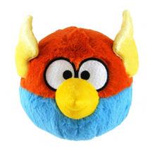 Pelucia Angry Birds Space Grande Azul C/ Laranja C/som Rovio